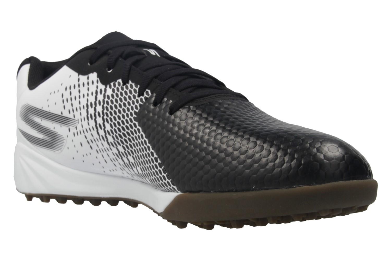 SKECHERS - Herren Fußballschuhe - GO SOCCER HEXGO - Schwarz/Weiß Schuhe in Übergrößen – Bild 5