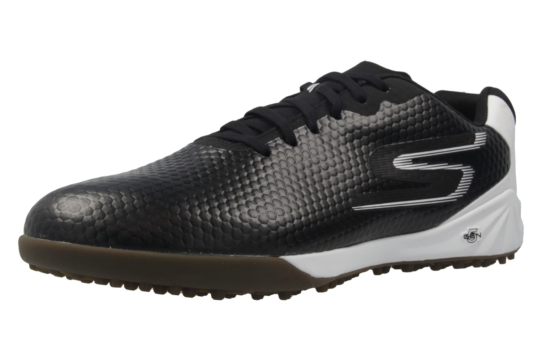 SKECHERS - Herren Fußballschuhe - GO SOCCER HEXGO - Schwarz/Weiß Schuhe in Übergrößen – Bild 1