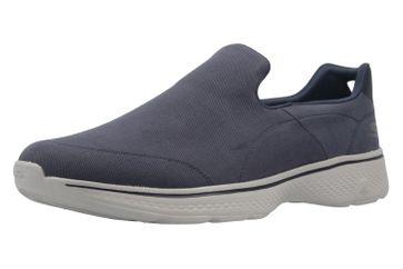 SKECHERS - Herren Slipper - GO WALK 4 MAGNIFICENT - Blau Schuhe in Übergrößen
