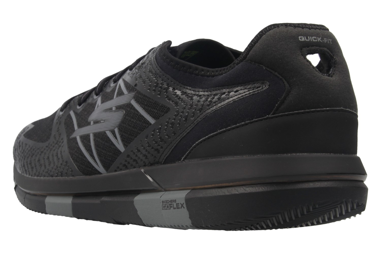 Skechers Sneaker in Übergrößen Schwarz 54011/BKGY große Herrenschuhe – Bild 2