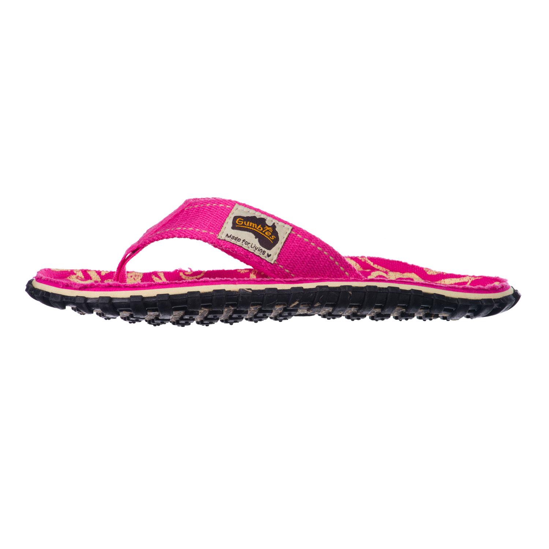 GUMBIES - Damen Zehentrenner - Pink Schuhe in Übergrößen – Bild 3