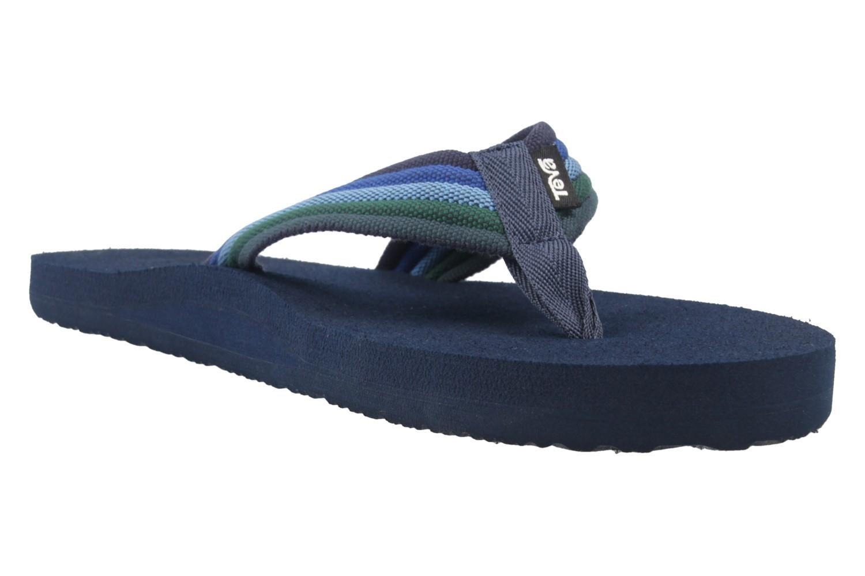 TEVA - Herren Zehentrenner - Mush II - Blau/Grün Schuhe in Übergrößen – Bild 5