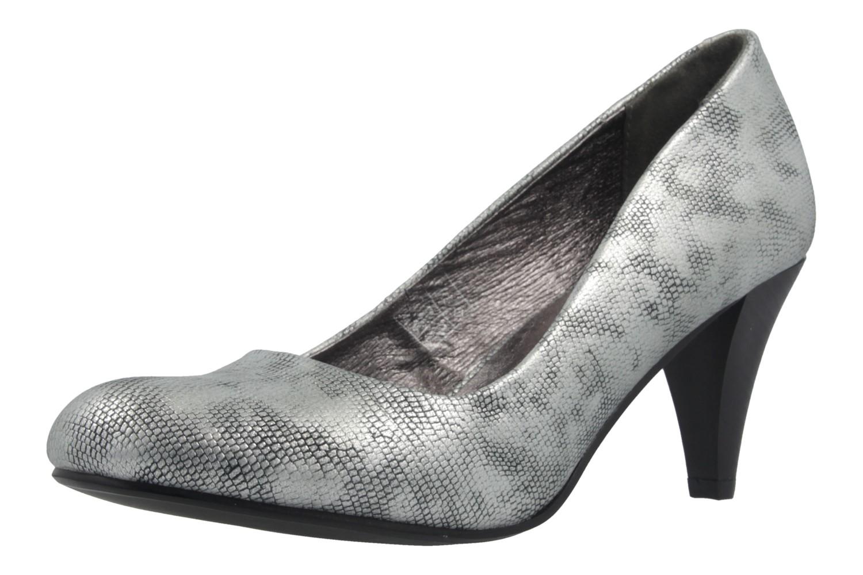 premium selection fe1df c1f81 Details zu Fitters Footwear Pumps in Übergrößen große Damenschuhe Silber XXL