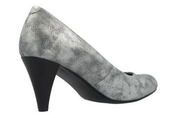 Fitters Footwear Pumps in Übergrößen Silber 2.469201 Silver PU Metallic große Damenschuhe – Bild 3