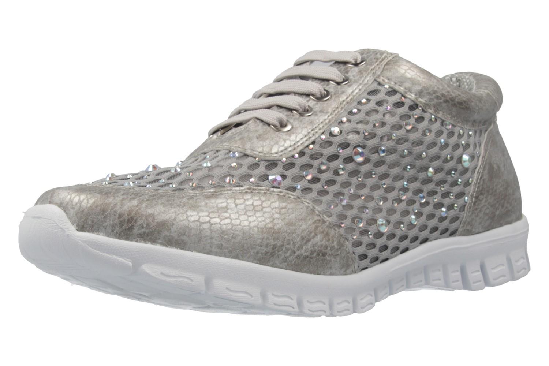 FITTERS FOOTWEAR - Diana - Damen Sneaker - Grau Schuhe in Übergrößen – Bild 1