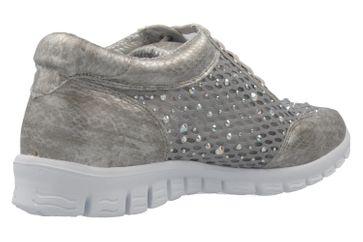 Fitters Footwear Diana Sneaker in Übergrößen Grau 2.971403 Grey große Damenschuhe – Bild 3