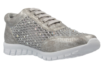 Fitters Footwear Diana Sneaker in Übergrößen Grau 2.971403 Grey große Damenschuhe – Bild 5