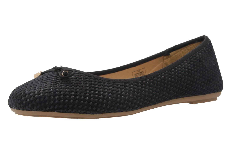 FITTERS FOOTWEAR - Isla - Damen Ballerinas - Schwarz Schuhe in Übergrößen – Bild 1