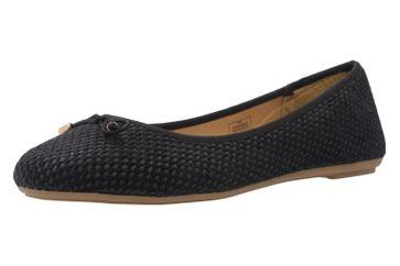 Fitters Footwear Ballerinas in Übergrößen Schwarz 0 große Damenschuhe – Bild 1