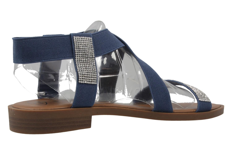 FITTERS FOOTWEAR - Lynn - Damen Sandalen - Blau Schuhe in Übergrößen – Bild 3