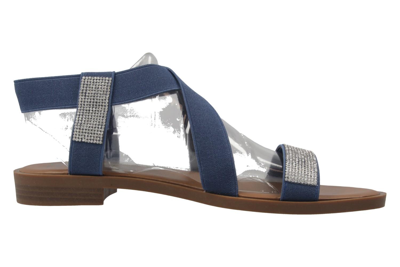 FITTERS FOOTWEAR - Lynn - Damen Sandalen - Blau Schuhe in Übergrößen – Bild 4