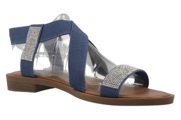 Fitters Footwear Sandalen in Übergrößen Blau 0 große Damenschuhe – Bild 5