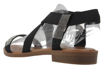 FITTERS FOOTWEAR - Lynn - Damen Sandalen - Schwarz Schuhe in Übergrößen – Bild 2