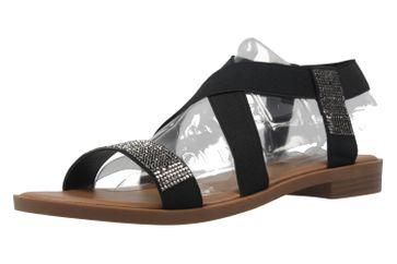 Fitters Footwear Sneaker in Übergrößen Schwarz NEW-19863 große Damenschuhe – Bild 1