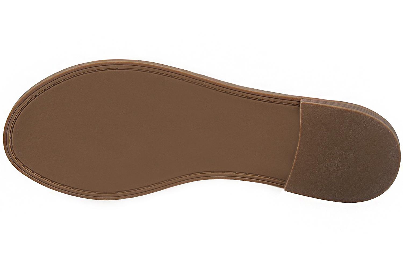 FITTERS FOOTWEAR - Lynn - Damen Sandalen - Beige Schuhe in Übergrößen – Bild 6