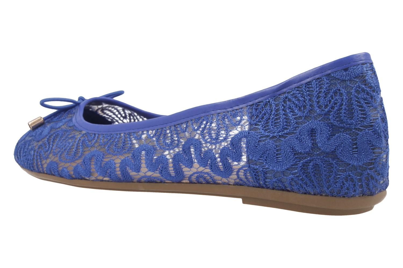 FITTERS FOOTWEAR - Tina - Damen Ballerinas - Blau Schuhe in Übergrößen – Bild 2