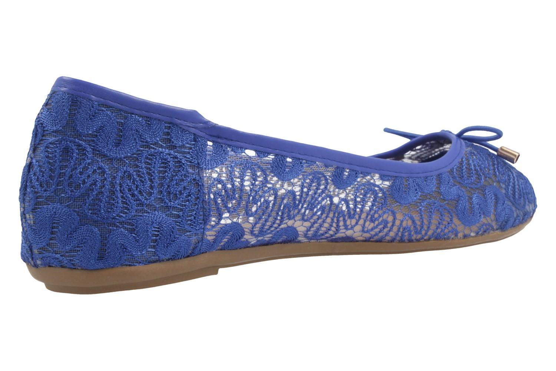 FITTERS FOOTWEAR - Tina - Damen Ballerinas - Blau Schuhe in Übergrößen – Bild 3