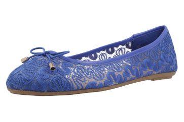 Fitters Footwear Ballerinas in Übergrößen Blau 2.514377 Blau große Damenschuhe
