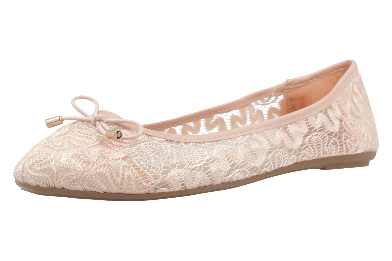 Fitters Footwear Ballerinas in Übergrößen Pink 2.514377 Rosa große Damenschuhe – Bild 1