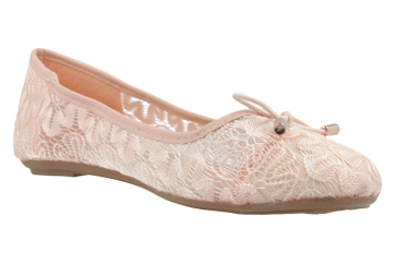 Fitters Footwear Ballerinas in Übergrößen Pink 2.514377 Rosa große Damenschuhe – Bild 5