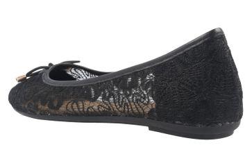 FITTERS FOOTWEAR - Tina - Damen Ballerinas - Schwarz Schuhe in Übergrößen – Bild 2
