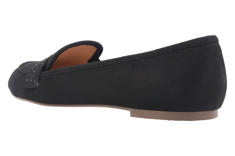Fitters Footwear Ballerinas in Übergrößen Schwarz 2.978601 Schwarz MF große Damenschuhe – Bild 2