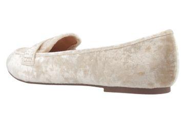 FITTERS FOOTWEAR - Alena - Damen Ballerinas - Samt Beige Schuhe in Übergrößen – Bild 2