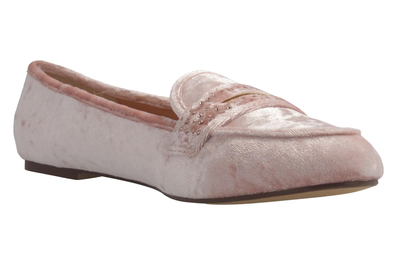 Fitters Footwear Ballerinas in Übergrößen Pink 2.978601 Pink Velvet große Damenschuhe – Bild 5