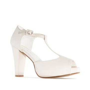 ANDRES MACHADO - Damen Charleston Sandale - Beige Schuhe in Übergrößen – Bild 3