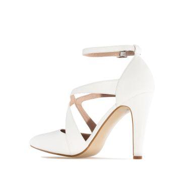 ANDRES MACHADO - Damen Pumps - Weiß Schuhe in Übergrößen – Bild 1