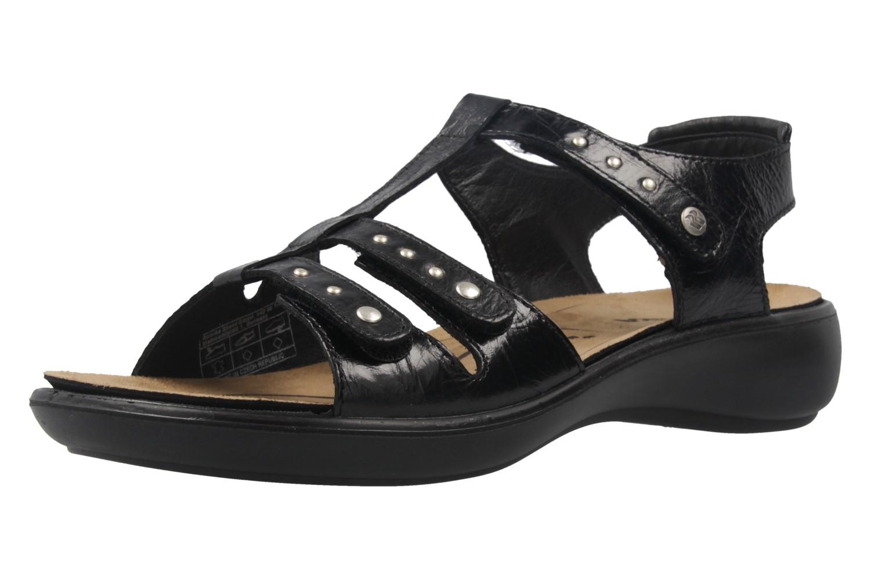 Romika Sandalen in Übergrößen Schwarz 16076 24 100 große Damenschuhe – Bild 1