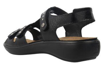 Romika Sandalen in Übergrößen Schwarz 16076 24 100 große Damenschuhe – Bild 2