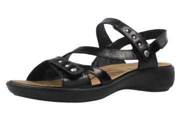 Romika Ibiza 70 Sandalen in Übergrößen Schwarz 16070 24 100 große Damenschuhe
