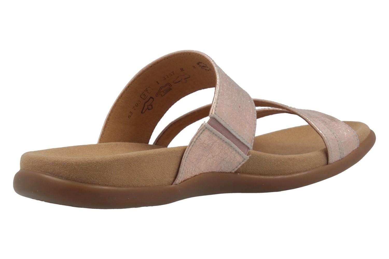 GABOR - Damen Pantoletten - Rose Schuhe in Übergrößen – Bild 3