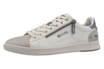 MUSTANG - Herren Halbschuhe - Weiß Schuhe in Übergrößen – Bild 1