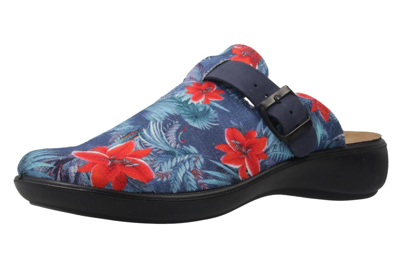ROMIKA - Ibiza Home 321 - Damen Hausschuhe - Blau Schuhe in Übergrößen – Bild 1