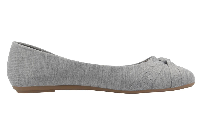 FITTERS FOOTWEAR - Amy - Damen Ballerinas - Grau Schuhe in Übergrößen – Bild 4