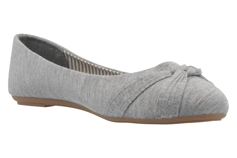 FITTERS FOOTWEAR - Amy - Damen Ballerinas - Grau Schuhe in Übergrößen – Bild 5
