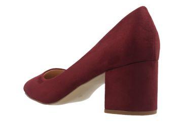Fitters Footwear Pumps in Übergrößen Rot 2.978609 Burgund große Damenschuhe – Bild 2