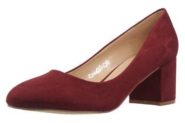 Fitters Footwear Pumps in Übergrößen Rot 2.978609 Burgund große Damenschuhe