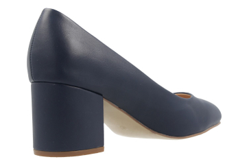 Fitters Footwear Pumps in Übergrößen Blau 2.978609 Navy PU große Damenschuhe – Bild 3