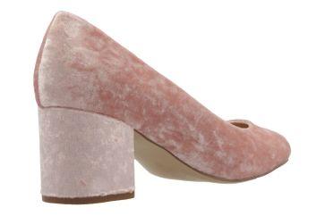 Fitters Footwear Pumps in Übergrößen Pink 2.978609 Light Pink Velvet große Damenschuhe – Bild 3