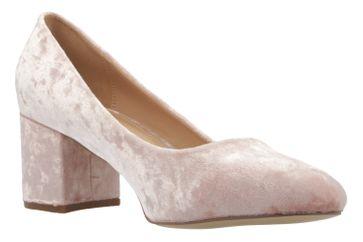 Fitters Footwear Pumps in Übergrößen Pink 2.978609 Light Pink Velvet große Damenschuhe – Bild 5
