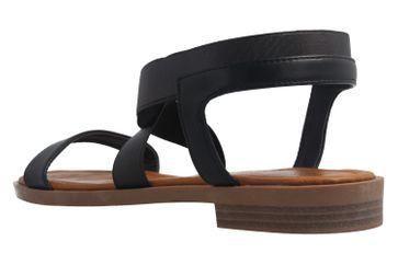 Fitters Footwear Sandalen in Übergrößen Schwarz 2.872476 - Jill Black große Damenschuhe – Bild 2