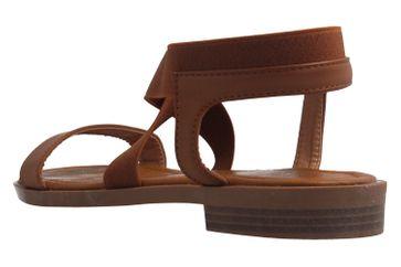 Fitters Footwear Sandalen in Übergrößen Braun 2.872476 - Jill Brandy große Damenschuhe – Bild 2