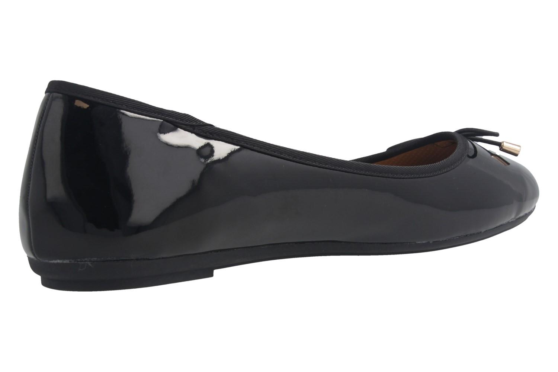 Fitters Footwear Ballerinas in Übergrößen Schwarz 2.514378 Fiona Black Patent große Damenschuhe – Bild 3