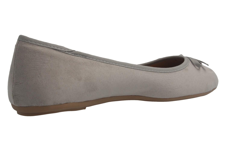 Fitters Footwear Ballerinas in Übergrößen Grau 2.589601 Helen Lt. Grey MF große Damenschuhe – Bild 3