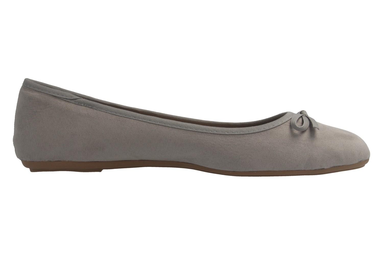 Fitters Footwear Ballerinas in Übergrößen Grau 2.589601 Helen Lt. Grey MF große Damenschuhe – Bild 4