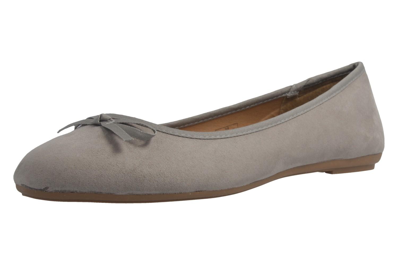 Fitters Footwear Ballerinas in Übergrößen Grau 2.589601 Helen Lt. Grey MF große Damenschuhe – Bild 1