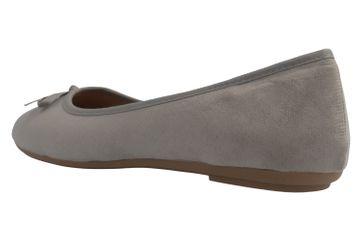 Fitters Footwear Ballerinas in Übergrößen Grau 2.589601 Helen Lt. Grey MF große Damenschuhe – Bild 2